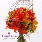 Buchet flori lava curgatoare
