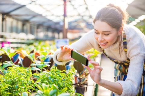 Prima agentie de modele pentru plante
