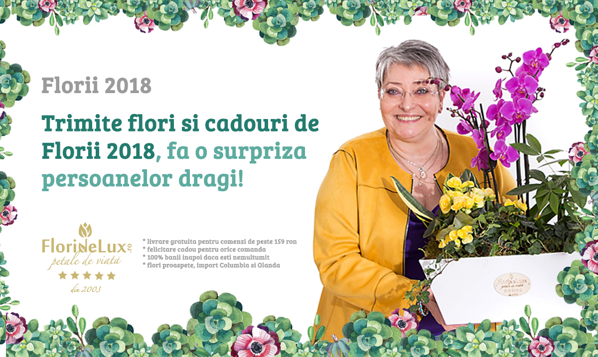 flori de Florii, florile sunt un cadou deosebit