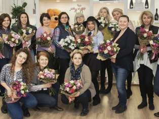 Curs decorator floral APRILIE 2018