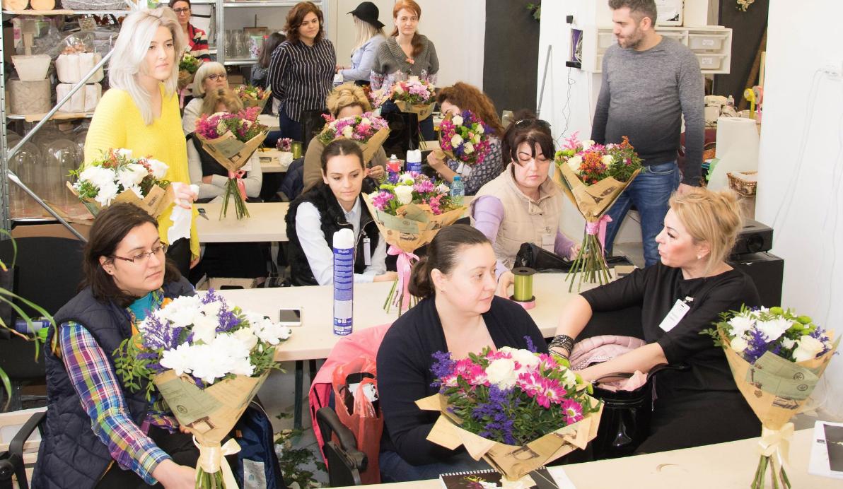 curs florist bucuresti