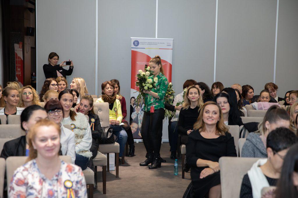Flori de Lux la conferinta Femeia Antreprenor 2018