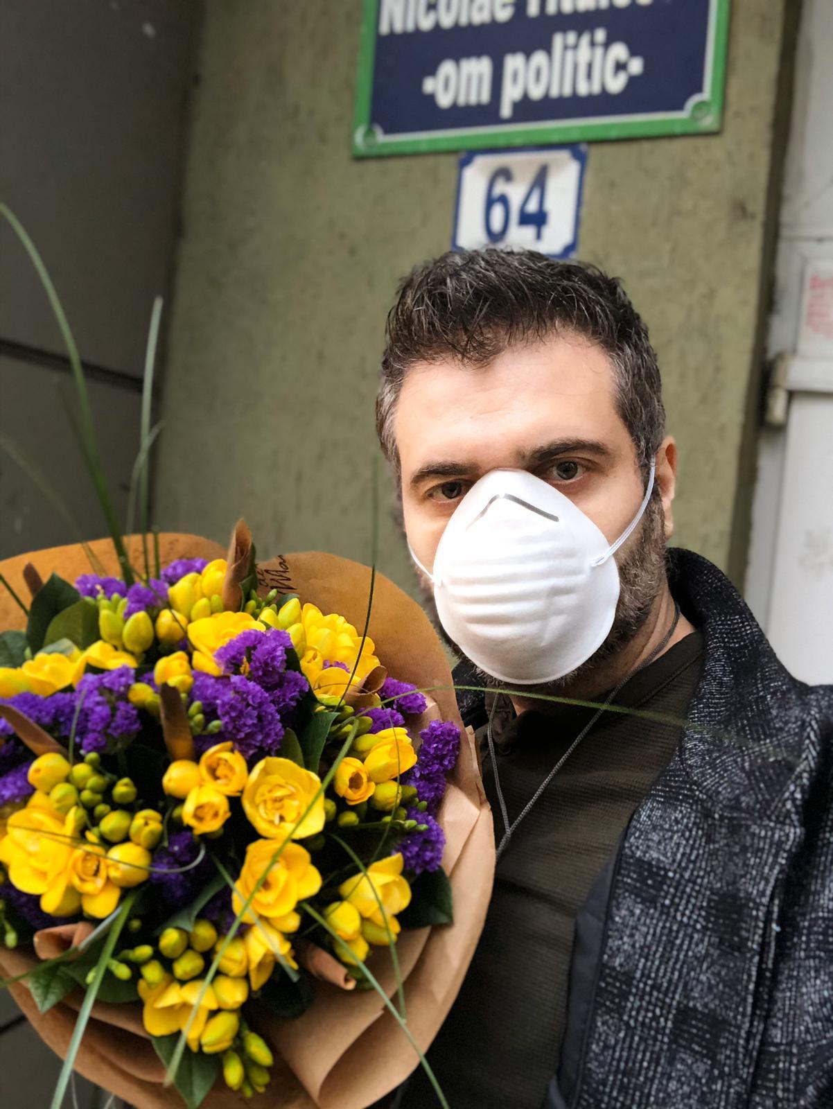 Livrare flori pe perioada starii de urgenta