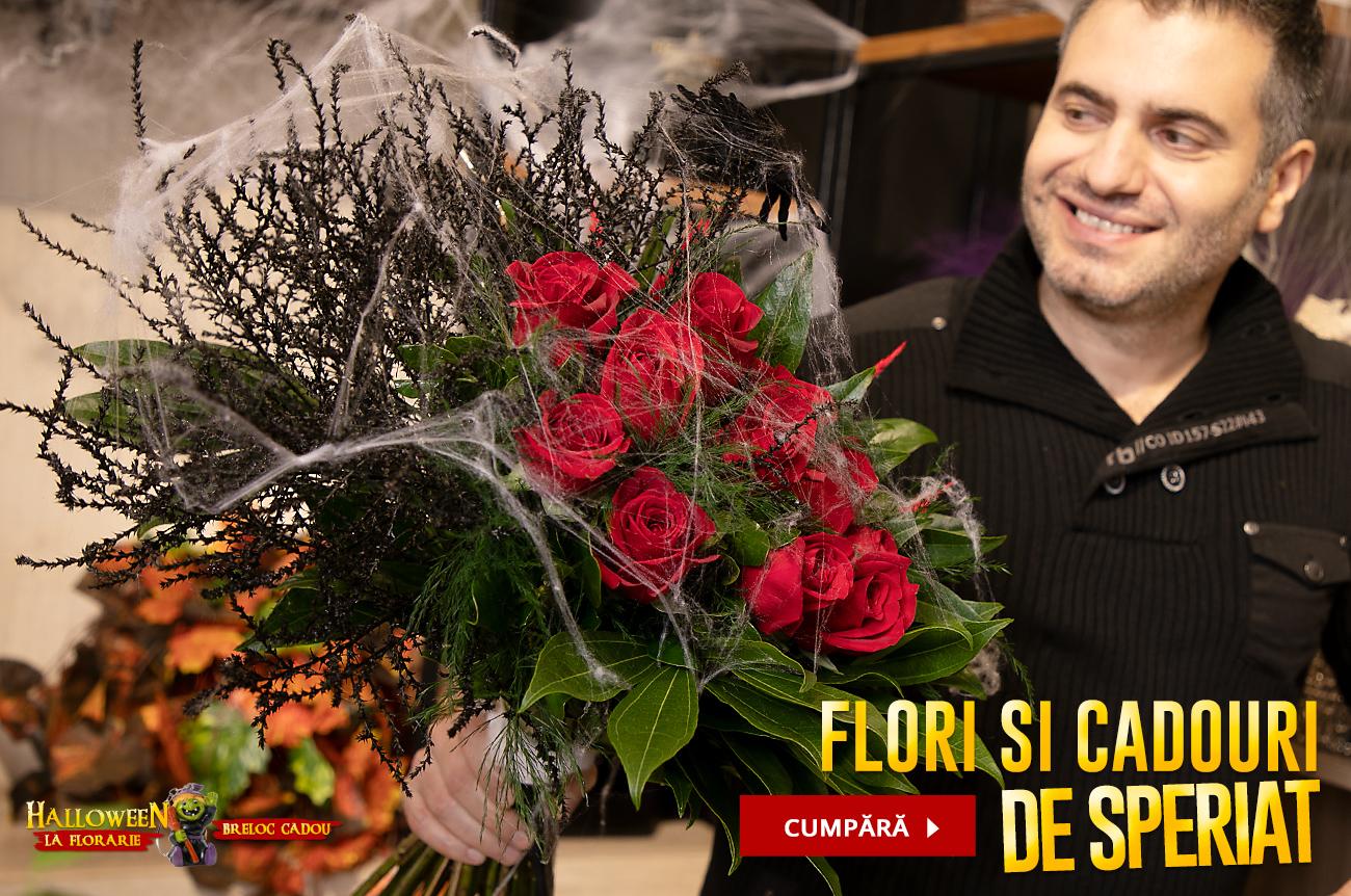 Flori de Halloween, fa o bucurie celor dragi!