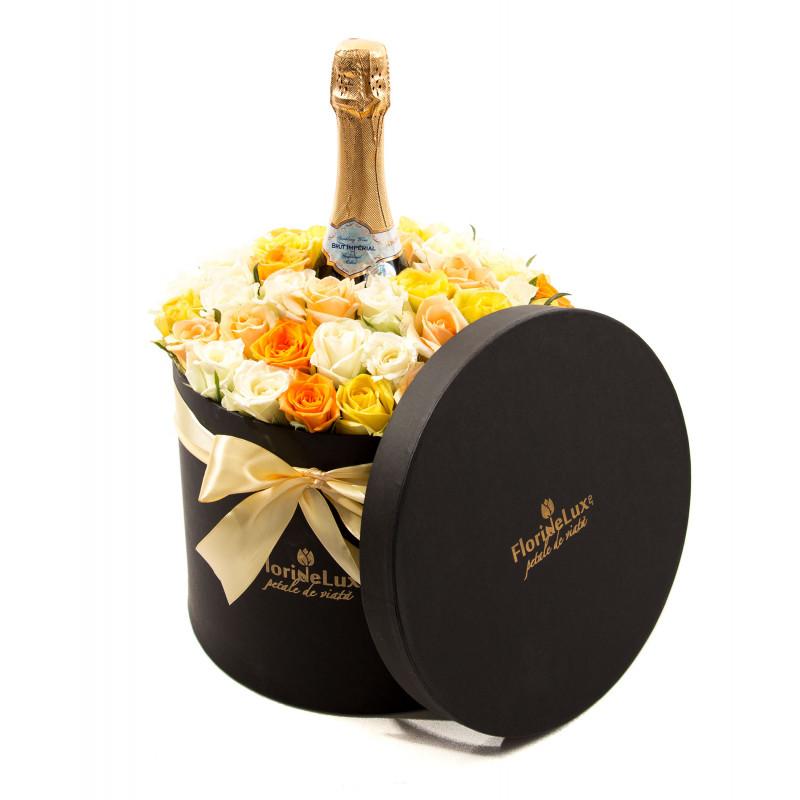 Cutie florala surpriza absoluta, doar 429,99 RON!