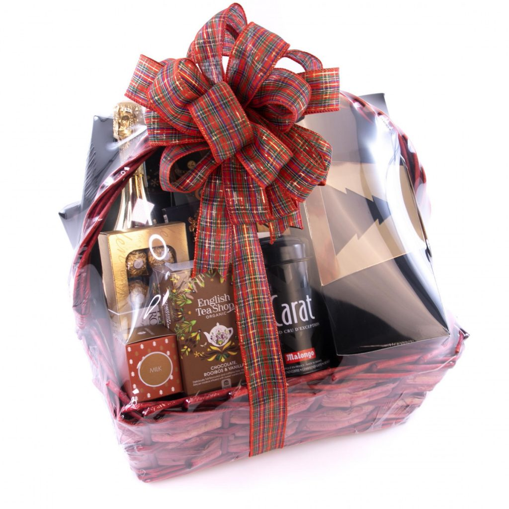 Cadouri de Crăciun 2020 - top 10 idei de cadouri Crăciun, Cos cadou festiv și delicios, doar 349,99 RON!