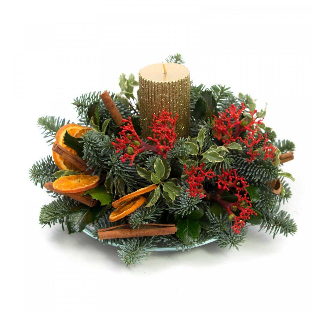 Decor masă de Crăciun 2020, Ornamente Crăciun de poveste, doar 159,99 RON!