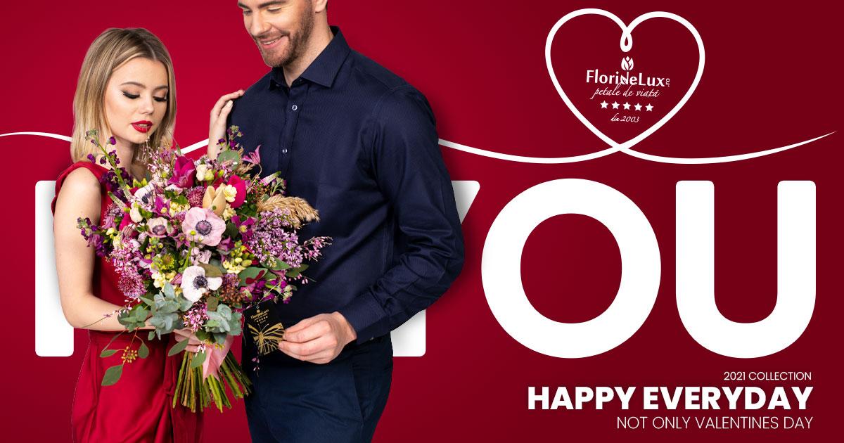 Flori Ziua Îndrăgostiților – oferte 2021