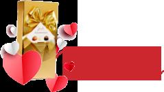 Comandă de minim 300 RON și FlorideLux îți oferă cadou o cutie de bomboane delicioase!
