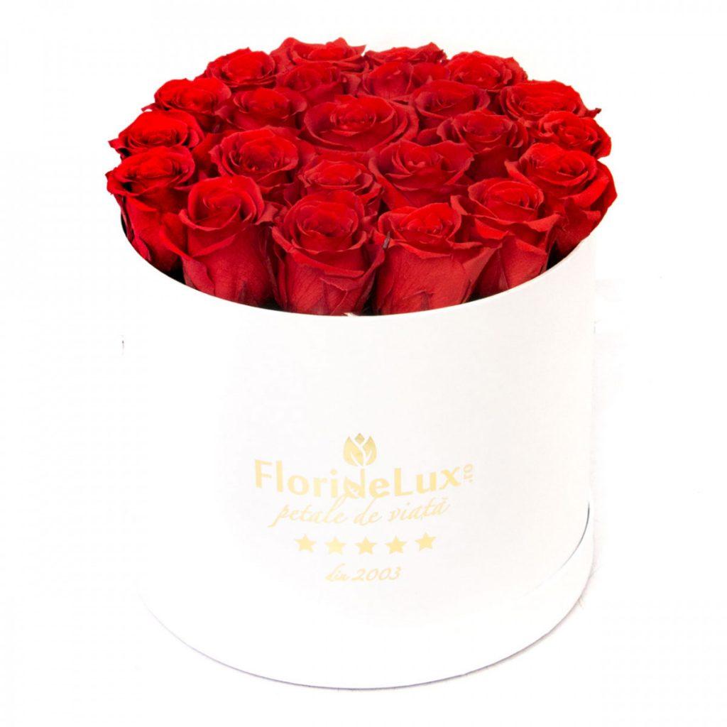 Trandafiri criogenați de lux, doar 956,99 RON