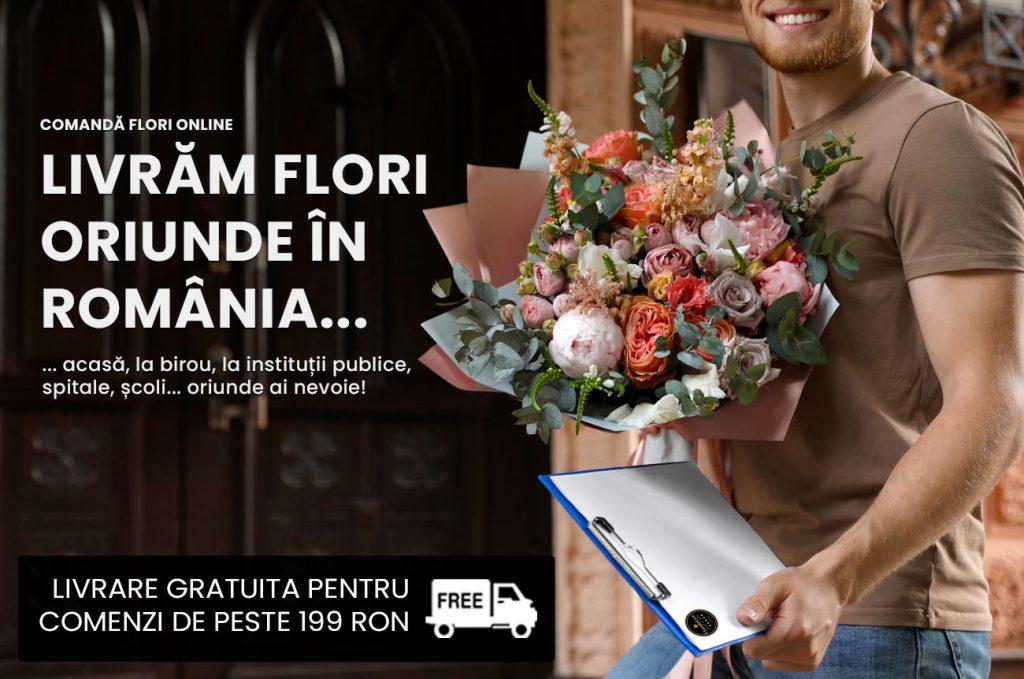 Esti in diaspora Afla cum poti comanda flori in Romania
